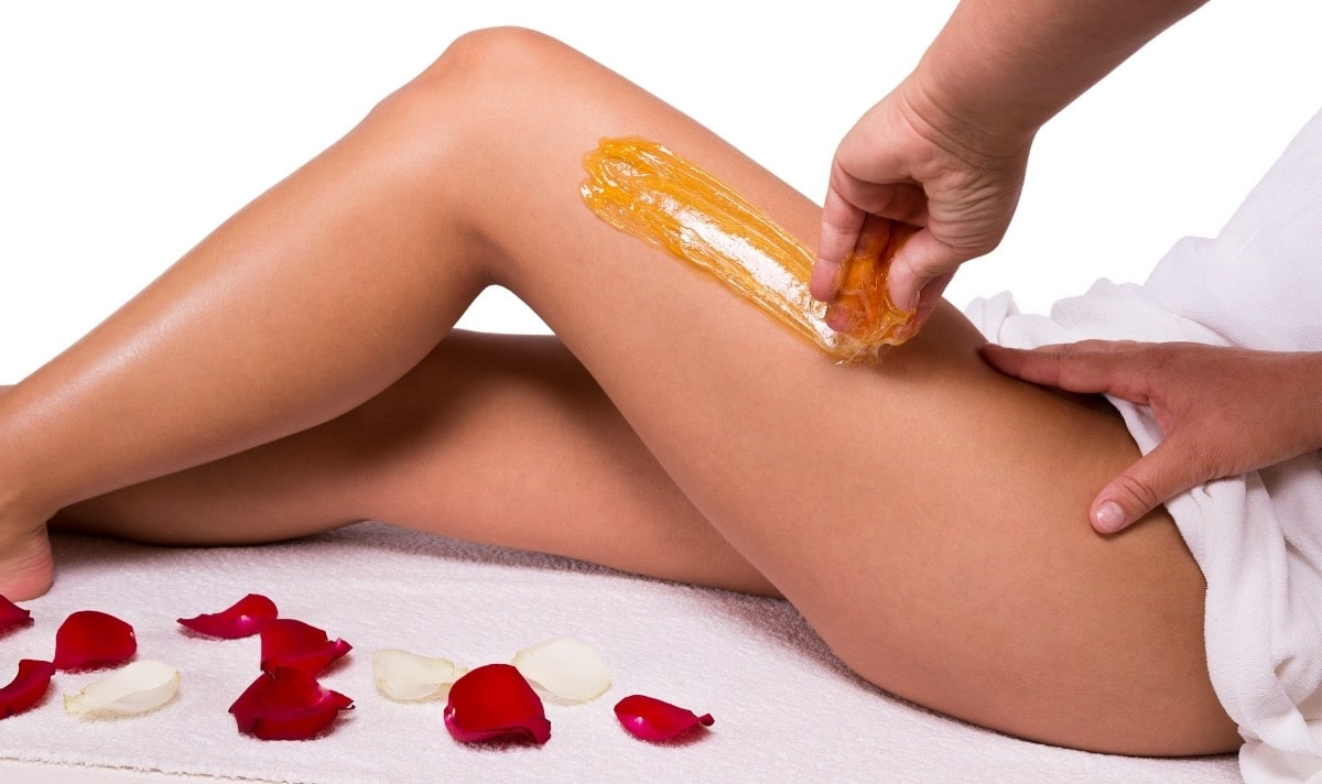 depilarse las piernas con azucar