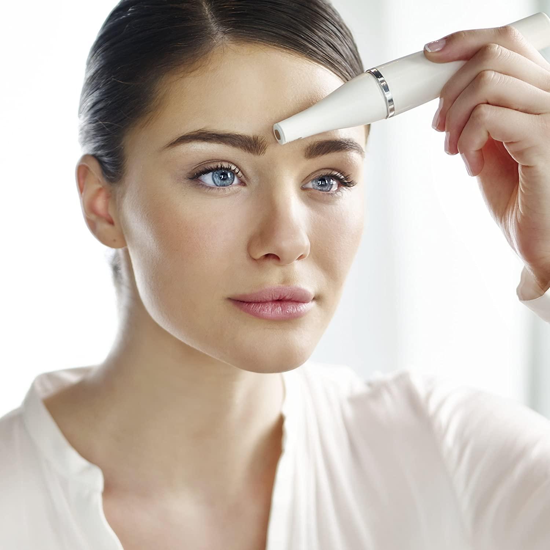 zonas para usar depiladora facial